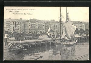 AK Santander, Vista desde el Muelle