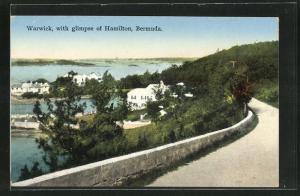 AK Warwick, Panorama with glimpse of Hamilton