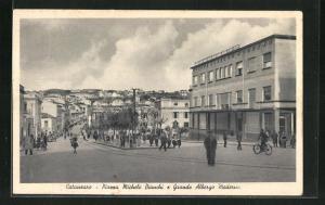 AK Catanzaro, Piazza Michele Bianchi e Grande Albergo Moderna