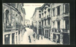 AK Schio, Via Garibaldi