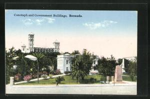 AK Bermuda, Cenotaph and Government Buildings