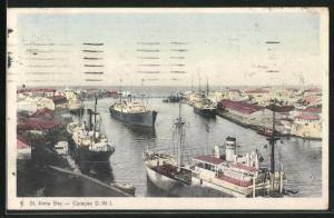 AK Curacao / D. W. I., St. Anna Bay