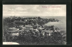 AK Jamaica / B. W. I., Teilansicht