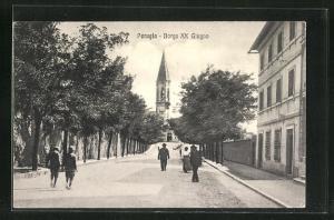 AK Perugia, Borgo XX Giugno