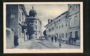AK Gorizia, Via 24 Maggio ed il palazzo di Giustizia