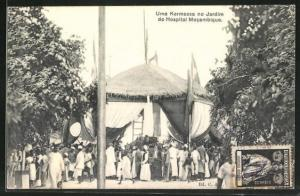 AK Mocambique, Uma Kermesse no Jardim do Hospital Mocambique