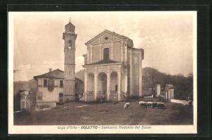 AK Boletto, Santuario Madonna del Sasso