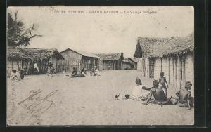 AK Grand Bassam, Le Village Indigène