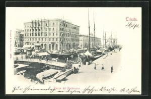 AK Trieste, Piazza del Ponterosso