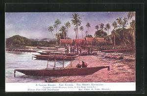 AK New Guinea, A Seaside Resort