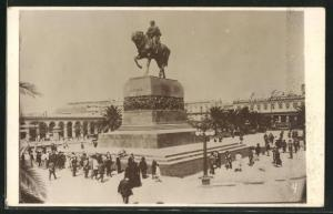 AK Montevideo, Denkmal für Artigas