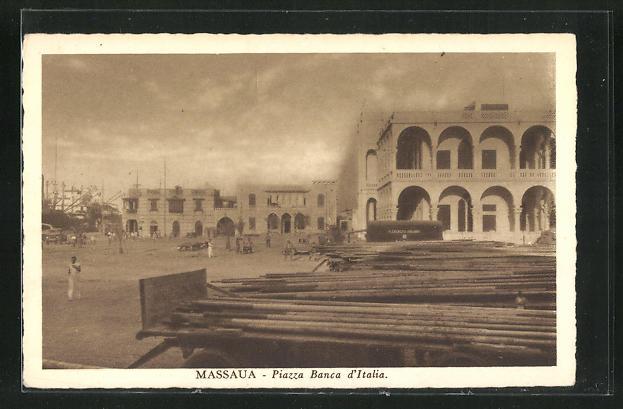 AK Massaua, Piazza Banca d`Italia 0