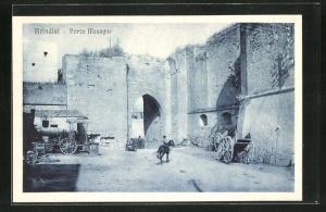 AK Brindisi, Veduta di Porta Mesagne