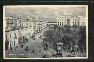 AK Foggia, Blick auf die Piazza Lanza