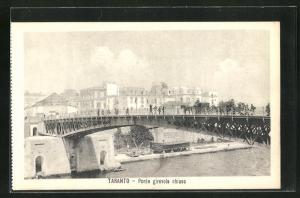 AK Taranto, Ponte girevole chiuso