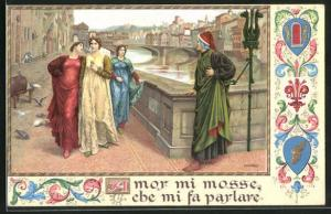 AK Firenze, The Meeting of Dante and Beatrice