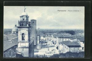 AK Pietrasanta, Blick auf die Piazza Umberto I.