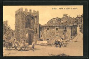 AK Assisi, Porta S. Pietro e Borgo
