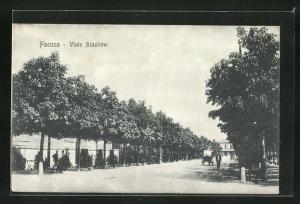 AK Faenza, Blick in die Viale Stazione