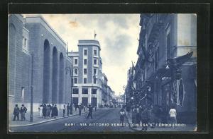 AK Bari, Via Vittorio Veneto, Chiesa S. Ferdinando