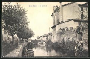 AK Aquileja, Il Ponte, an der alten Brücke
