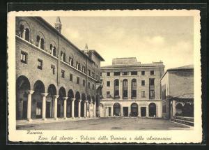 AK Ravenna, Palazzi della Provincia e delle Assicurazioni