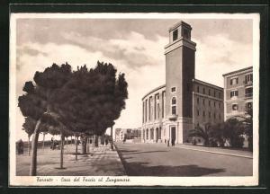 AK Taranto, Casa del Fascio al Lungomare