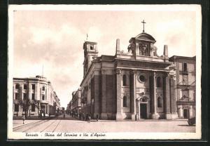 AK Taranto, Chiesa del Carmine e Via d`Aquino