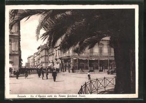AK Taranto, Via d`Aquino vista da Piazza Giordano Bruno