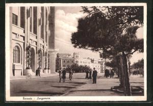 AK Taranto, Lungomare, Strassenpartie