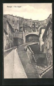 AK Perugia, Via Appia, Strassenpartie