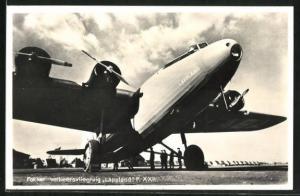 AK Fokker verkeersvliegtuig Lappland F. XXII., Flugzeug