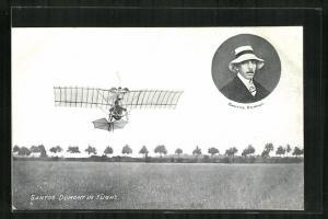 AK Santos Dumont in Flight, Flugzeug