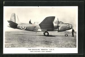 AK Douglas Boston D B 7, Twin Engined Light Bomber