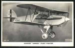 AK Hawker Nimrod Fleet Fighter
