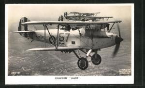 AK Kampfflugzeuge der Royal Air Force vom Typ Hawker Hart
