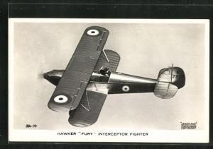 AK Hawker Fury Interceptor Fighter