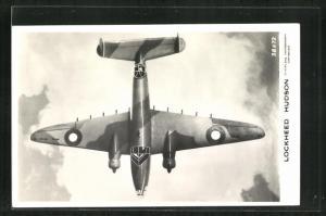 AK Kampfflugzeug der Royal Air Force vom Typ Lockheed Hudson
