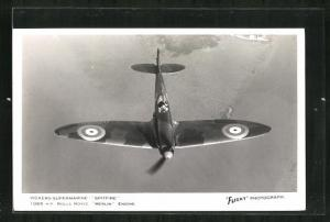 AK Flugzeug Vickers-Supermarine Spitfire, Britischer Jagdeinsitzer