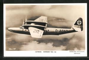 AK Wasserflugzeug, German Dornier Do. 26 mit
