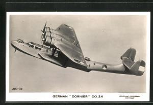 AK Wasserflugzeug, German Dornier Do. 24