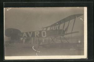 Foto-AK Wasserflugzeug Abro K146 auf dem Landeplatz