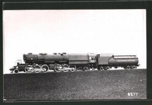 Fotografie Eisenbahn USA Baltimore And Ohio Railway, Dampflok Nr. 7400 mit Ölfeuerung, Tender-Lokomotive