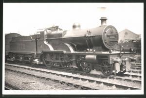 Fotografie Eisenbahn Grossbritannien, Dampflok Nr. 1022, Lokomotive mit Tender