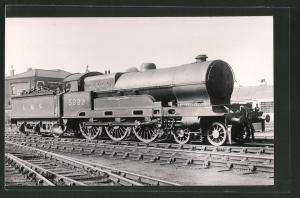 Fotografie Eisenbahn Grossbritannien LMS, Dampflok Nr. 5999, Lokomotive mit Tender