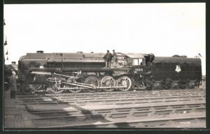 Fotografie Eisenbahn Grossbritannien, British Railways, Dampflok Nr. 92013, Tender-Lokomotive mit Ölfeuerung