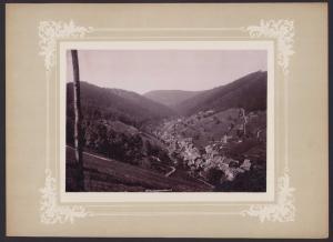 Fotografie Fotograf unbekannt, Ansicht Sonneberg i. Th., Panorama von der Lindnershöhe, Grossformat 36 x 26cm