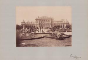 Fotografie Fotograf unbekannt, Ansicht Wien, Kursalon im Stadtpark, Grossformat 42 x 31cm
