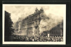 AK Wien, Brand des Justizpalastes