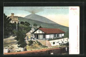 AK Napoli, La nuova ferrovia elettrica sul Vesuvio